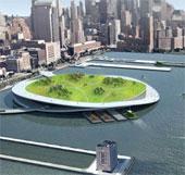 New York sẽ xây dựng các đảo ủ phân