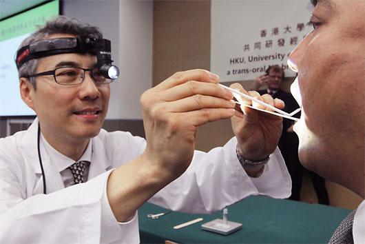 Chế tạo thiết bị chẩn đoán sớm ung thư vòm họng