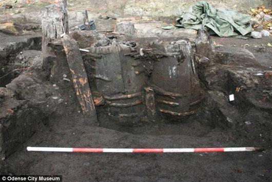 Phát hiện nhà vệ sinh 700 tuổi ở Đan Mạch