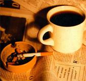 Hút thuốc lá sẽ phá hỏng vĩnh viễn vị cà phê