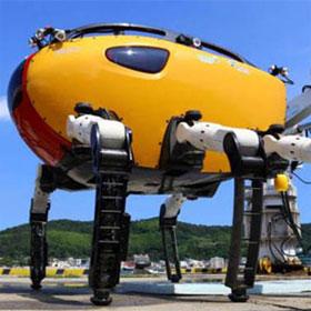 Robot đi bộ dưới nước lớn nhất và lặn sâu nhất thế giới