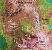 Sao Kim có núi lửa phun trào