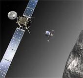 Sao chổi đã lọt vào tầm ngắm của Rosetta