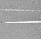 Nghi ngờ UFO bay trên bầu trời Texas