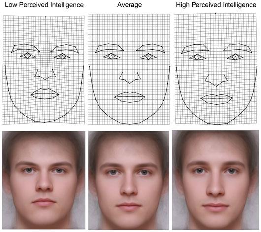 Phụ nữ có thể đoán đàn ông thông minh qua khuôn mặt