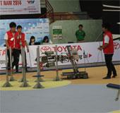 Hơn 160 đội tham gia Robocon 2014