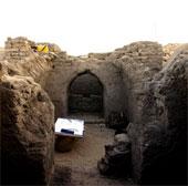 Ngôi mộ bên trong kim tự tháp ở Abydos