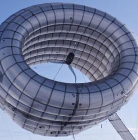 Tua bin gió dạng khinh khí cầu