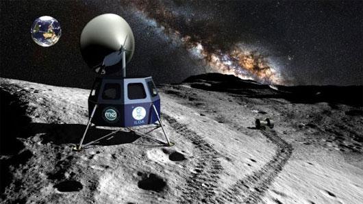 Tham vọng khai thác mặt trăng