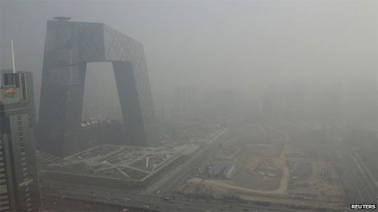 Ô nhiễm không khí tại châu Á gây nên những cơn bão khủng khiếp