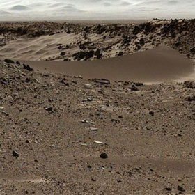 Khí hậu sao Hỏa lạnh và khô từ 3,6 triệu năm trước