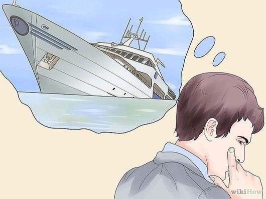 Khi bị nước tràn vào tàu thì phần đáy tàu sẽ là nơi đầu tiên bị ngập.