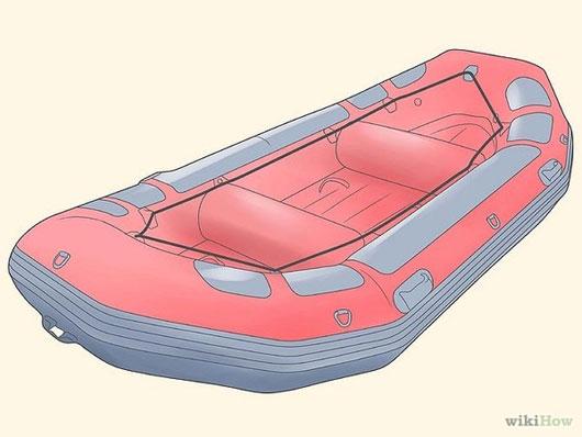 Hãy thả xuồng cứu hộ và một ít đồ đạc cần thiết khi tàu chìm.