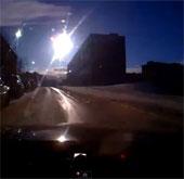 Người dân Nga tận mắt chứng kiến thêm một vụ nổ thiên thạch