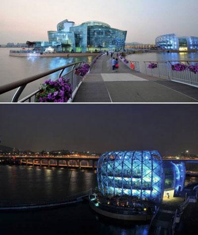 10 công trình nổi tuyệt đẹp trên thế giới