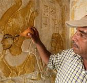 Ai Cập phát hiện lăng mộ nhà văn thời Pharaoh