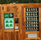 Quầy bán thực phẩm hữu cơ tự động