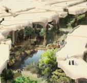 Al Fayah - Công viên được xây dựng bên dưới lòng sa mạc
