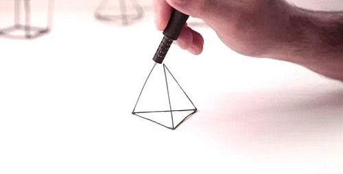Bất ngờ với cây bút vẽ 3D siêu ảo diệu