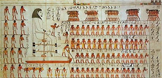 Cách vận chuyển đá xây kim tự tháp của người Ai Cập cổ đại