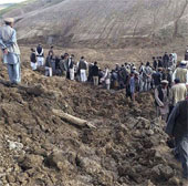Afghanistan tổ chức quốc tang các nạn nhân lở đất