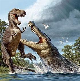 Phát hiện mới về loài cá sấu khổng lồ cổ đại săn khủng long