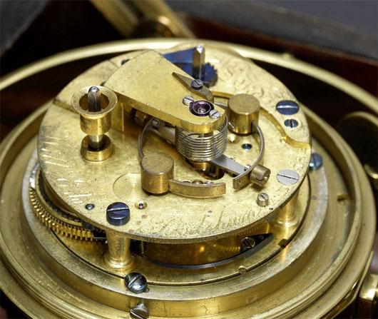 Đồng hồ hàng hải gắn liền với các cuộc thám hiểm của Charles Darwin