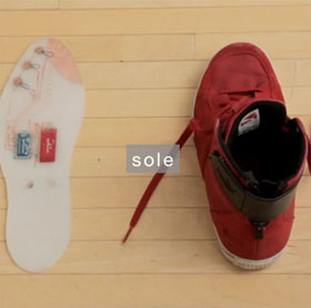 SuperShoes - Giày chỉ đường thay bản đồ trên điện thoại