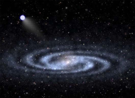 Phát hiện sao siêu tốc