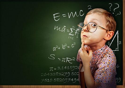 ...sẽ được bù đắp bởi sự thông minh vượt trội của người con