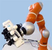 Tay robot có khả năng bắt vật thể bay với tốc độ cao