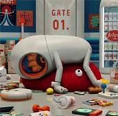 Video: Chuyến giao hàng ngoài không gian của Johnny