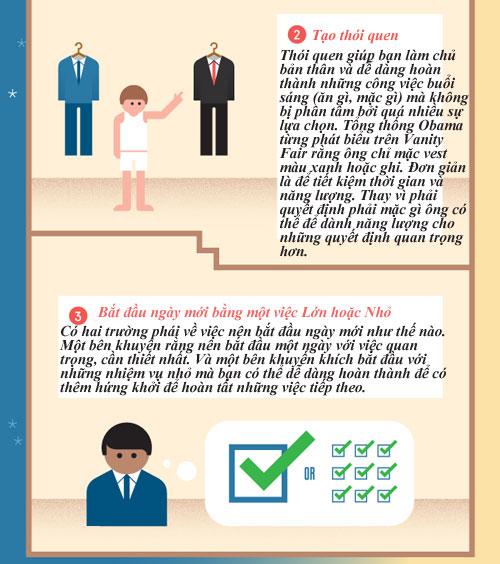 6 việc khôn ngoan nên thực hiện mỗi ngày