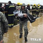 44 người chết vì trận lụt tại Serbia và Bosnia-Herzegovina