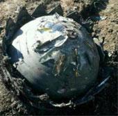 Ba vật thể lạ rơi xuống Trung Quốc