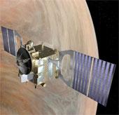 Venus Experss sắp lao vào bầu khí quyển sao Kim