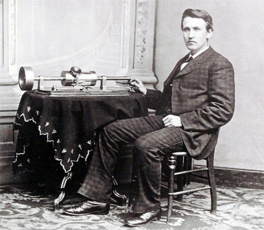 Edison thời đi học thường bị đội sổ và bạn bè chê cười