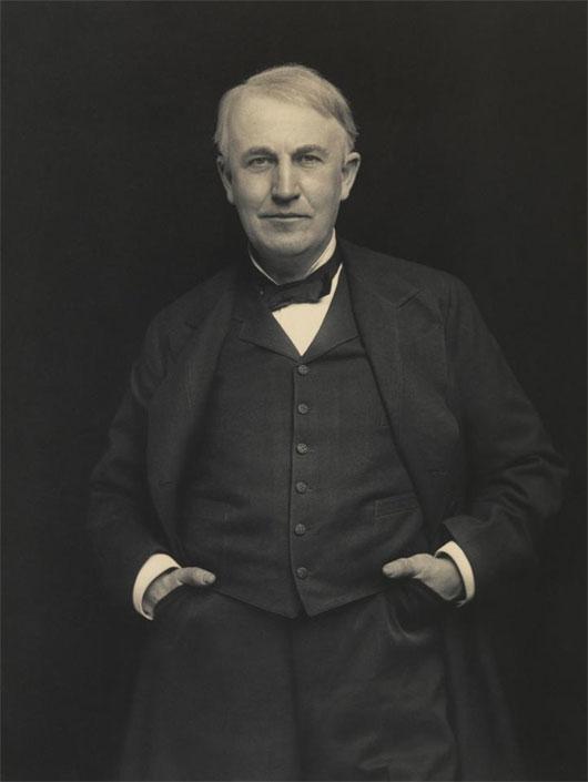 Edison đã tự khám phá, nghiên cứu khoa học không qua trường lớp