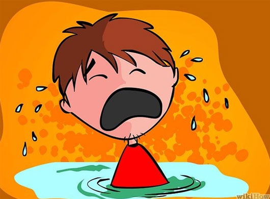 Người nhạy cảm thường khóc một cách ngon lành