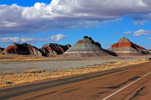 Sa mạc sặc sỡ - Painted Desert, Mỹ