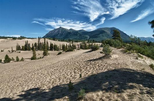 Sa mạc nhỏ nhất thế giới – Sa mạc Carcross, Canada