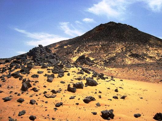 Sa mạc đen – Ai Cập