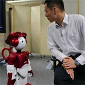 Robot biết trêu đùa khi tiếp chuyện