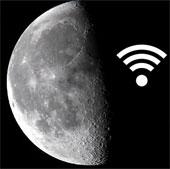 Biến mặt trăng thành thiết bị Wi Fi