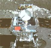 Xe tự hành mặt trăng của Trung Quốc hoạt động yếu ớt