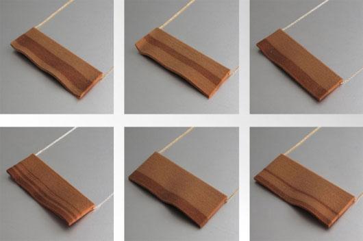 Những bộ trang sức bằng gỗ được tạo ra bằng công nghệ in 3D