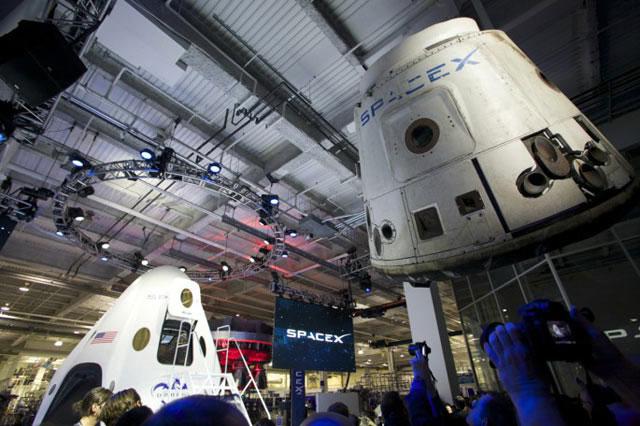 Chiêm ngưỡng tàu vũ trụ thế hệ mới của SpaceX