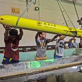 Trung Quốc thử nghiệm tàu ngầm không người lái mini