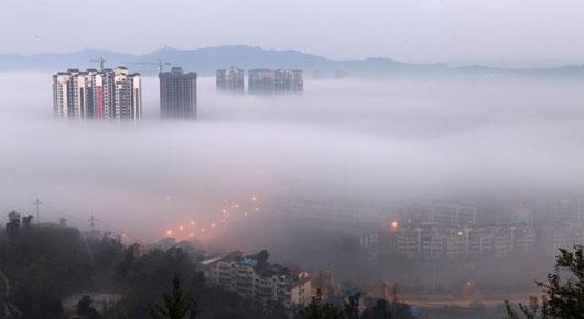 Ô nhiễm Trung Quốc ở mức báo động