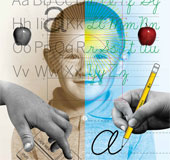 Viết tay giúp quá trình học tập của trẻ tốt hơn so với gõ bàn phím